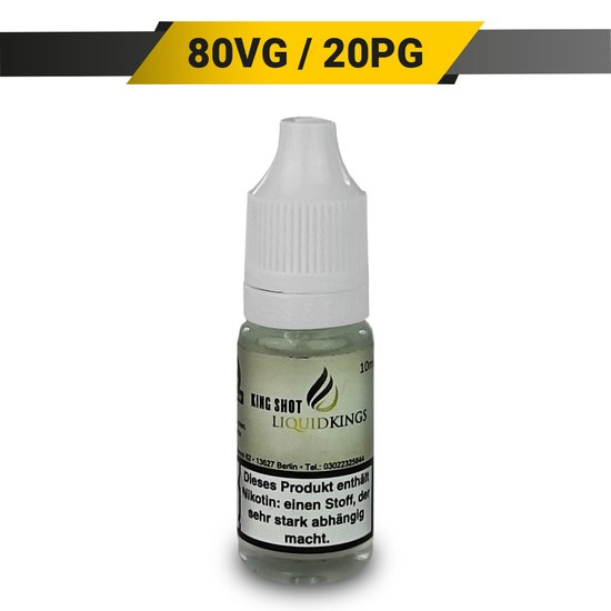 Liquidkings Nikotin Shot 10ml 20mg/ml 80/20 (VG/PG)