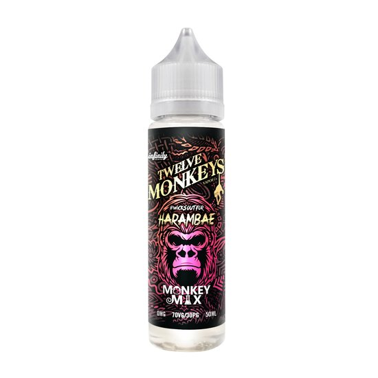 Twelve Monkeys Harambae Plus Liquid 50ml