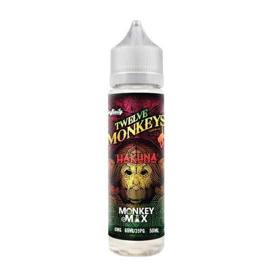 Twelve Monkeys Hakuna Plus Liquid 50ml