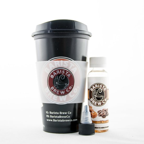 Barista Brew Salted Caramel Macchiato Plus Liquid 50ml