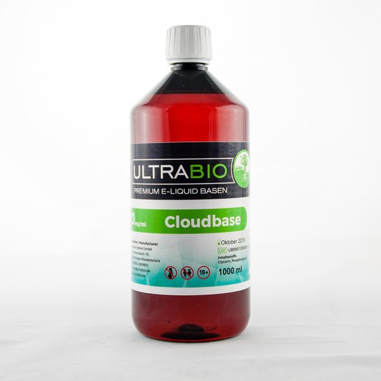 Ultra Bio CloudBase 0mg