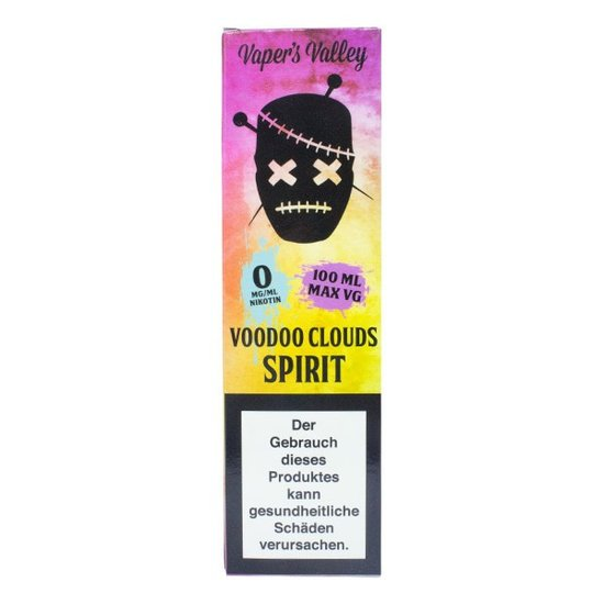Voodoo Clouds Spirit 100ml Liquid 0mg