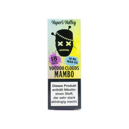 Voodoo Clouds Mambo 10ml Liquid 18mg