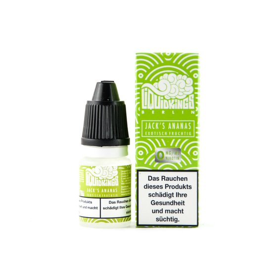 LiquidKings Jacks Ananas 10ml Liquid
