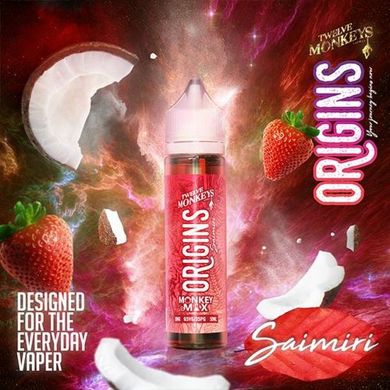 Twelve Monkeys Origins Saimiri Plus Liquid 50ml
