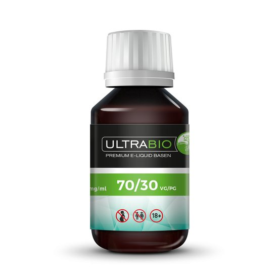 Ultra Bio Liquid Base VPG 70/30 0mg 100ml