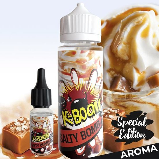 K-Boom Salty Bomb Aroma 10ml- Special Edition