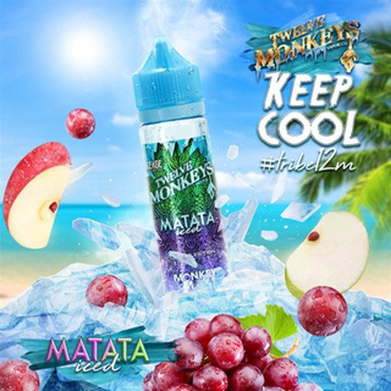 Twelve Monkeys Matata Iced Plus Liquid 50ml