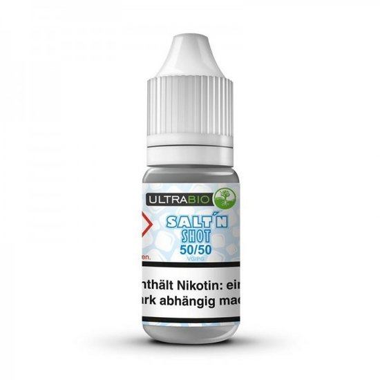 Ultra Bio 10ml Salt Shot 20mg Nikotin 50/50