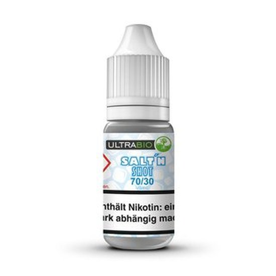 Ultra Bio 10ml Salt Shot 20mg Nikotin 70/30