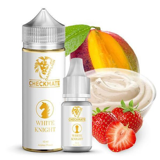 Dampflion Checkmate White Knight Aroma 10ml