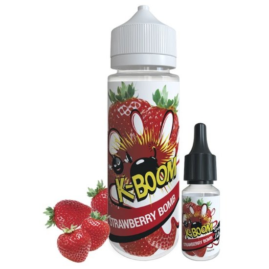 K-Boom Strawberry Bomb Aroma 10ml- Special Edition