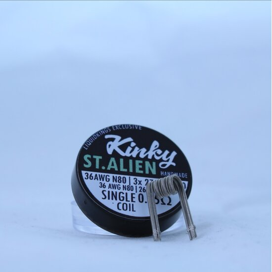 Kinky Alien Handmade Coils staged 0,15 Ohm Single Coil...