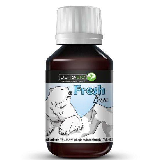 Ultra Bio Liquid Fresh Base 0mg