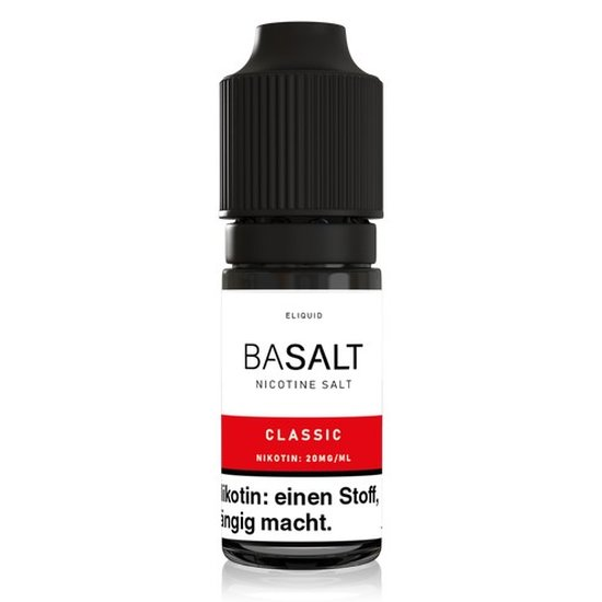 Basalt Classic Nic Salt 10ml Liquid 20mg