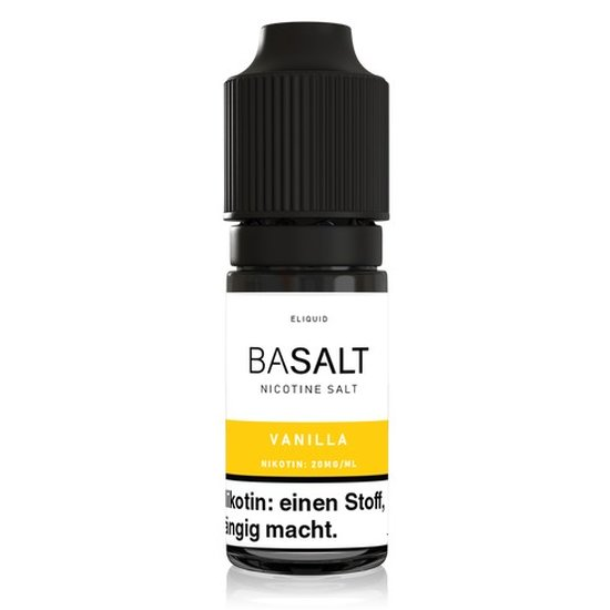 Basalt Vanilla Nic Salt 10ml Liquid 20mg