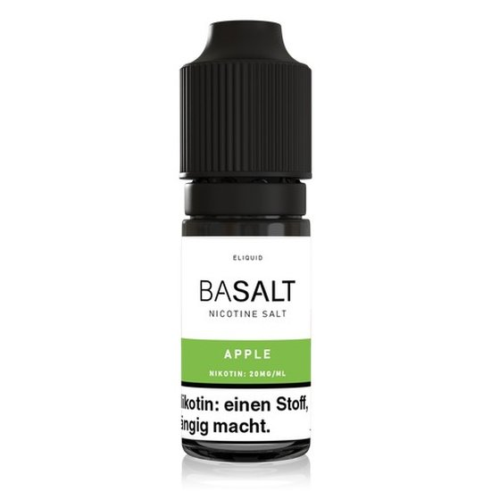 Basalt Apple Nic Salt 10ml Liquid 20mg