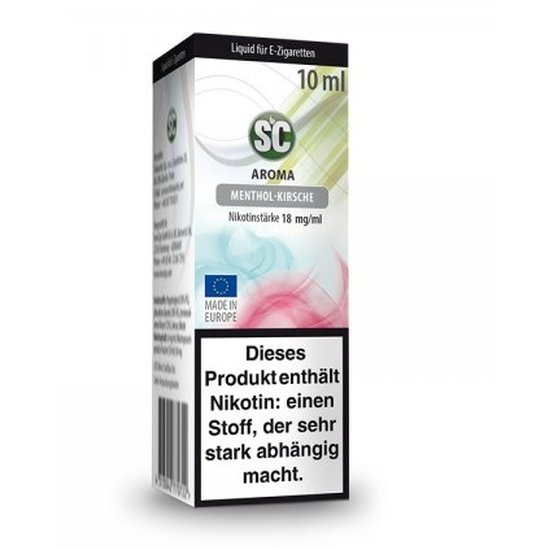 SC Liquid Menthol Kirsche 10ml 12mg