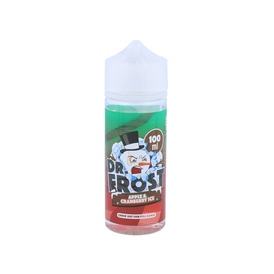 Dr. Frost - Polar Ice Vapes - Apple Cranberry Ice - 25ml...